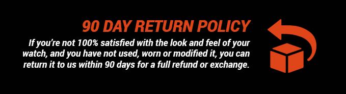 90 Day Return Policy